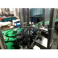 Quality 5.88KW Small Rinsing Filling Capping Machine , Normal Pressure Liquid Filling Equipment for sale