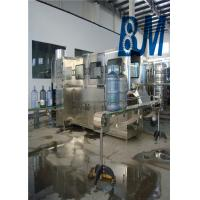 China 3 / 5 Gallon Water Filling Machine , Automatic Rinsing Filling And Capping Machine on sale