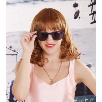 Buy cheap 2014 Hot Sale Lovely Woman Golden Brown Curly Synthetic Hair Wig from wholesalers
