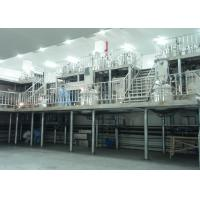 Quality High Speed Liquid Soap Production Line / Industrial Liquid Detergent Plant for sale