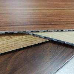 Quality 3-6mm Aluminum Core Panel Wood Grain Fireproof Interior Exterior Decoration for sale