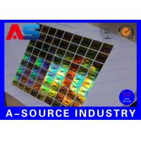 China PET Custom Holographic Stickers /  Custom Decal Stickers With Scratch Off Code on sale