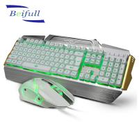 Quality Shenzhen Manufacturer offered Raised keycap cheap usb wired keyboard and mouse for sale