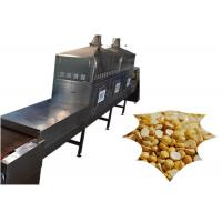 Quality Fully Automatic Microwave Drying Equipment 30KW Seeds Soybean Grains Baking Device for sale