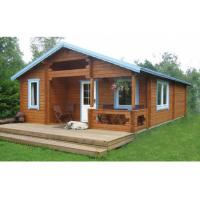 Quality ESW-14144 Nice Wooden House 770x568 cm In 36mm 72mm 110mm Wall for sale