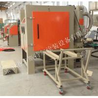 Quality Cabinet Abrasive Blasting Machine Heat Treated Parts Welded Parts Castings Support for sale