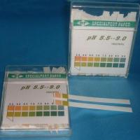 Quality Human Body pH Test Strips with Accuracy of 5.0 to 9.0 for sale