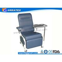 Quality Manual Hospital Dialysis Chair , Multifunction Blood Collection Chair for sale
