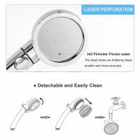Quality JK-2800 China sanitary ware factory supply three functions high water pressure hand shower chorme plated for sale