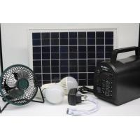 Quality 30W  hot sells solar energy home power system emergency lighting kits with mp3 and radio for Africa for sale