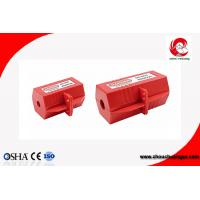 Quality ZC-D41 56g Rugged Elecctrical Plug Safety Lock Out Polypropylene Safety Lock Out For 110V plug for sale
