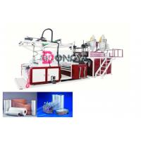 China Fast Speed Automatic Stretch Film Rewinding Machine / Cling Film Extruder 600 - 1000mm Width on sale