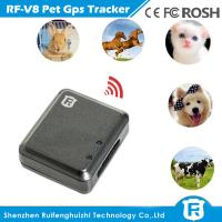 Quality GSM Quad Band SOS Alarm Pet GPS Tracker with Geo Fence for sale