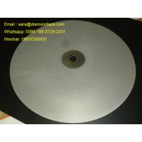 """Quality 16""""inch Diameter #1000 Grit Flat Lap wheel Lapidary lapping polishing disc for polishing gemstones for sale"""