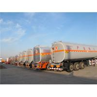 Quality 2 compartment 45 liters  semi trailer factory truck fuel tanker trailer on sale for sale