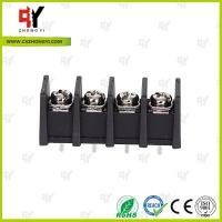 Quality 10.0mm Connector Terminal Block 2P - 24P with Wire Range 18 - 10AWG for sale