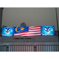 China p8 p10 outdoor led screen advertising , HD led video wall Energy saving on sale