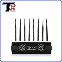 China Desktop 8 Band 3g Signal Jammer , Customized Frequency Bluetooth Signal Jammer on sale