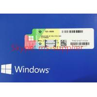 Quality OEM Package Windows 7 Pro Pack 1 DVD & Key Code COA License , Windows 7 Software for sale