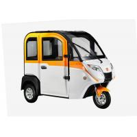 Quality Smart Enclosed Electric Tricycle 1200 W 3 Wheels With Adjustable Seat Cabin for sale