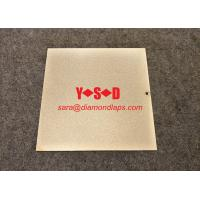 """Quality Electroplated diamond Lapping Plate for glass 8"""" inch X 8"""" inch  shaped Metal based for sale"""