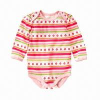 Quality Ready Made Organic Babies' Clothing, 20 Pieces MOQ, Soft and Comfortable for sale