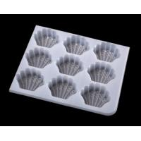 Quality Custom clear pvc plastic vacuum forming blister tray cosmetics packaging disposable cosmetic for sale