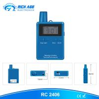 Buy 2018 hot selling RC2401 global use frequency wireless tour guide system for at wholesale prices