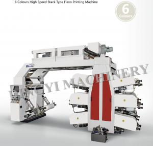 China Automatic Six Colors  Flexographic Printing Machine on sale