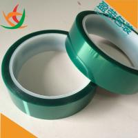 Silicone PET Green film adhesive tape for powder coating