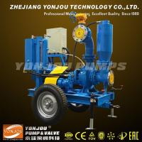Quality Portable 4inch Diesel Sewage Pump With Vacuum System for sale