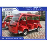 Quality 8 Seats Electric Sightseeing Bus 4 Wheel Electric Shuttle Car for Resort  Park for sale