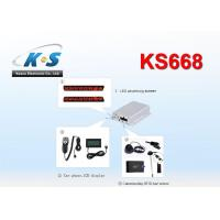 Quality RS232 Vehicle GPS Tracker With Metal Casing 105 * 85 * 27 (mm) Support Camera / RFID Reader / Handset Option for sale