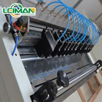 Quality full-auto knife filter paper pleating production line for sale