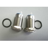 """Quality IP65 1NO 1/2"""" 12mm Stainless Steel Anti Vandal Push Button Switch for sale"""