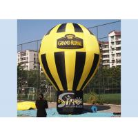 Quality Outdoor Grand Open Roof Top Large Inflatable Balloons Personalized , EN14960 Standard for sale