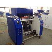 Quality LDPE PVC PE Stretch Film Rewinding Machine With Automatic System PLC Controller for sale