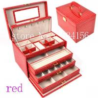 Quality Jewelry  Cases  Big Space For Jewelry Storage and Display Wedding Gift (28* 20 * 19.5 cm) Wholesale for sale