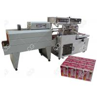 Buy PLC Control Food Packing Machine Shrink Wrap For Bottles With Steady Operation at wholesale prices
