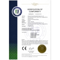 Shenzhen Promise Household Products Co., Ltd. Certifications