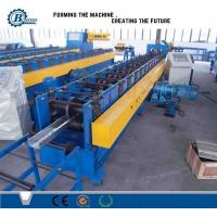 Quality Metal Roof Panel Purlin Roll Forming Machine PLC Control For C Z Shape for sale