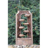 Buy cheap Classical Multi Tiered Outdoor Fountains In Fiberglass / Resin Material from Wholesalers