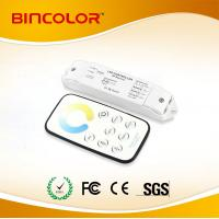 Quality T5+R3 Mini led CT dimmer CW NW WW touch remote control CT controller DC12V-24V for sale