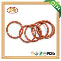 Quality Red standard / nonstandard NBR O Ring Water Resistance For Pump Seal for sale