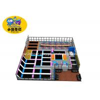 China Indoor Jump Trampoline Park 12 Months Warranty / Trampoline Jumping Bed For Kids on sale