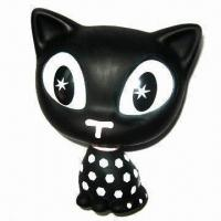 Quality 20cm Lovely Cat Figure, Customized Logos are Accepted for sale
