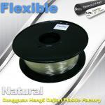 Quality Soft pla filament 1.75 / 3.0 mm  Flexible 3d Printer Filament for 3d Rapid Prototyping for sale