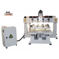 Quality CA-1225 Best sale 4 axis rotary wood carving cnc router for sale for sale