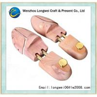 Quality Adjustable Metal Tube Wooden Shoe Stretcher / Lady Wooden Shoe Keeper for sale