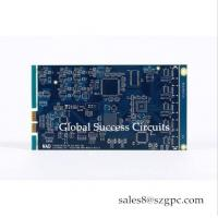 China FR4 material 1.2mm copper thickness 1oz multilayer printed circuits HDI PCB on sale